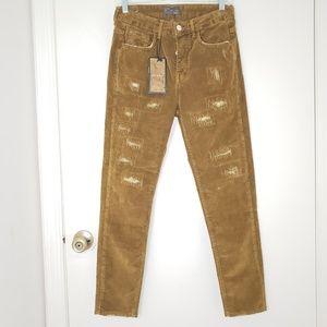 Zara Man Recover Corduroy Ripped Men's Pants 30x29